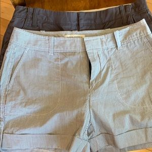 Banana Republic and Old Navy Shorts size 6